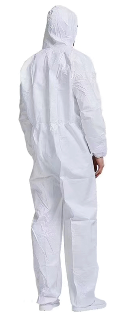 protective sms coverall gown