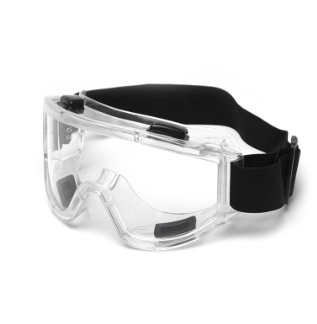 Safety Goggles W/Adjustable Headband, Clear