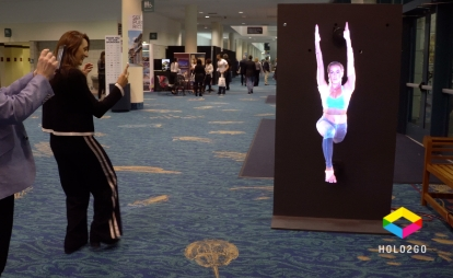 Holograms- An Insane Tool for Trade Show Traffic- 10 Strategies for 2020